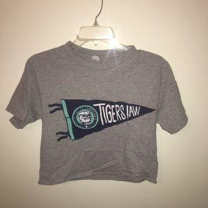Tigers Jaw crop top
